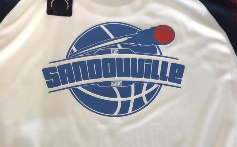 Nouveau tee shirt pour Sandouville Basket