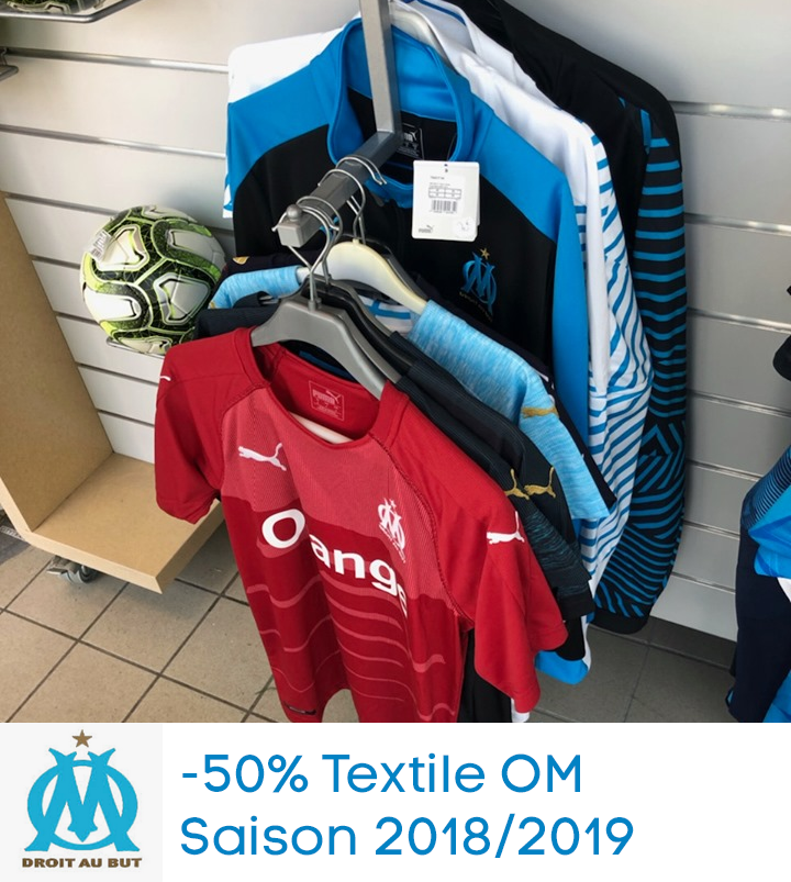 -50% Textile OM – Saison 2018/2019