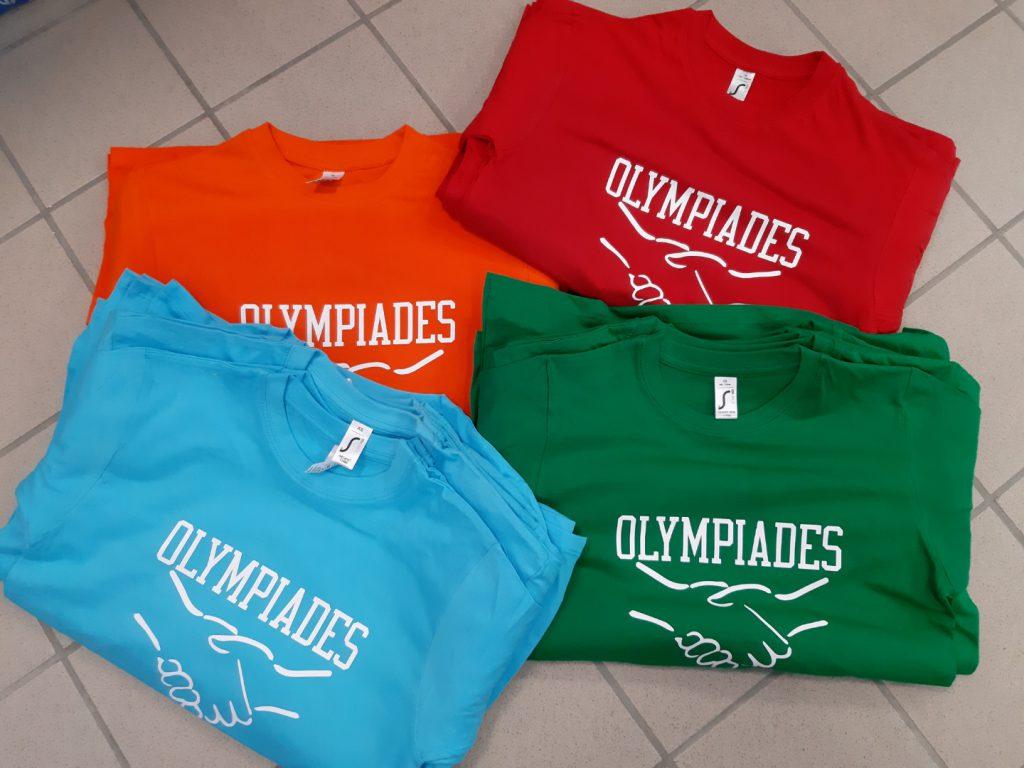 Réalisation pour les Olympiades organisées par l'école de Bourneville.