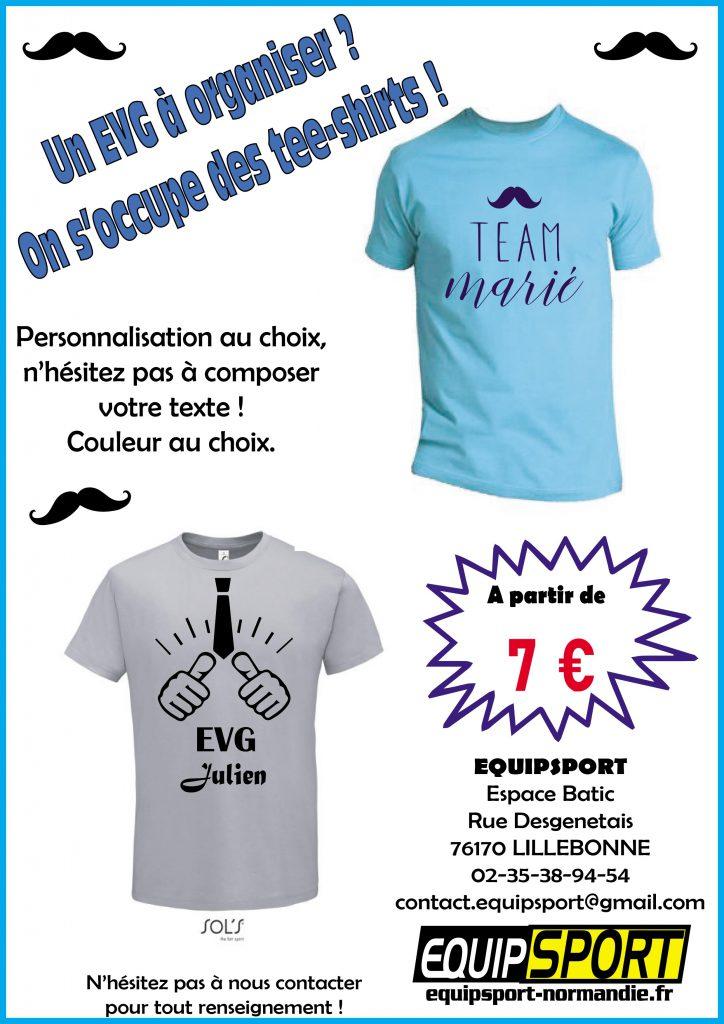 tee shirt personnalisé à des tarifs très compétitifs !