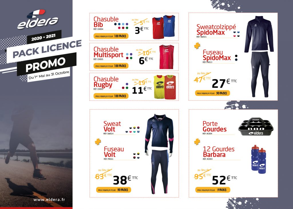 Pack Licence -Promo-