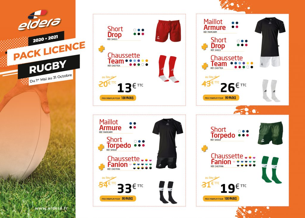 Pack Rugby Licence